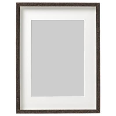HOVSTA Frame, dark brown, 30x40 cm