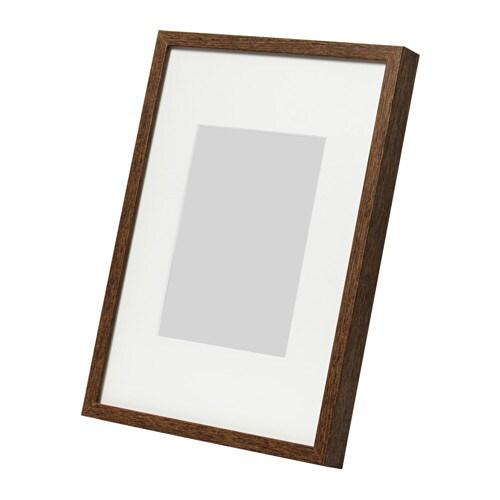 HOVSTA Frame Medium brown 21 x 30 cm - IKEA