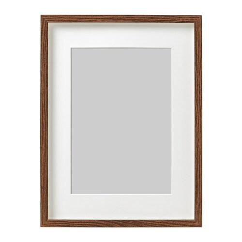 HOVSTA Frame Medium brown 30 x 40 cm - IKEA