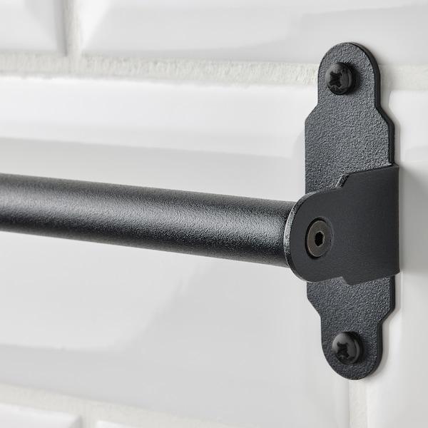 HULTARP Rail, black, 80 cm
