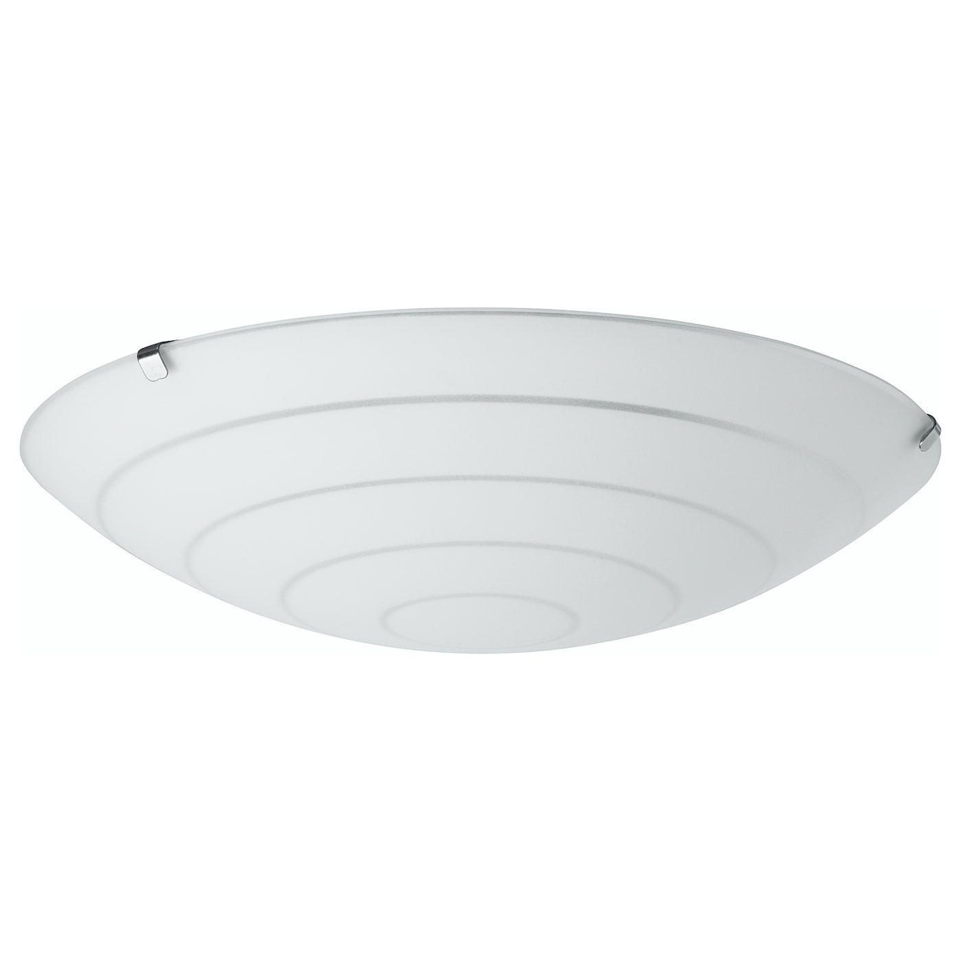IKEA HYBY ceiling lamp Gives a general light.