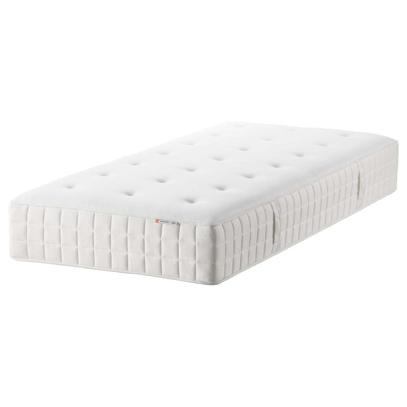 HYLLESTAD Pocket sprung mattress Firm white Standard