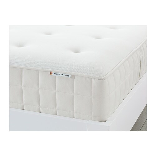 HYLLESTAD Pocket sprung mattress IKEA A layer of latex conforms to your body, relieves pressure and helps you to relax.