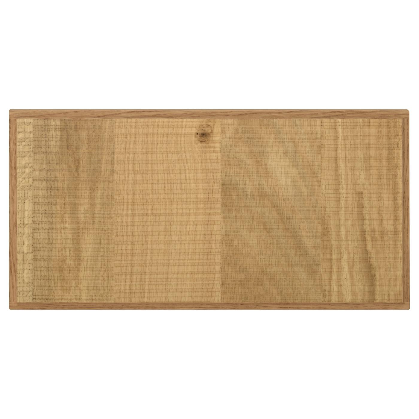 Kitchen Drawer Fronts Hyttan Drawer Front Oak Veneer 40X20 Cm  Ikea