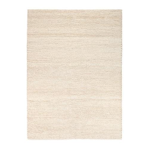 Ikea Off White Area Rug: IBSKER Rug Handmade Off-white 170x240 Cm