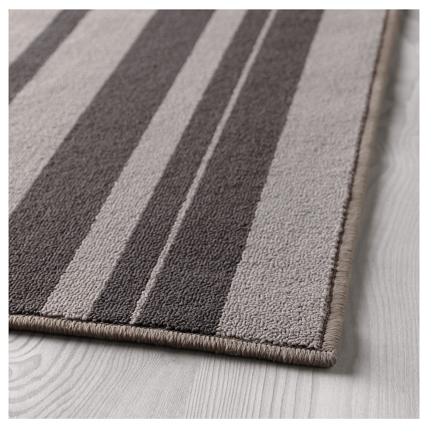 Ibsted rug low pile grey 120x180 cm ikea for Ikea rugs