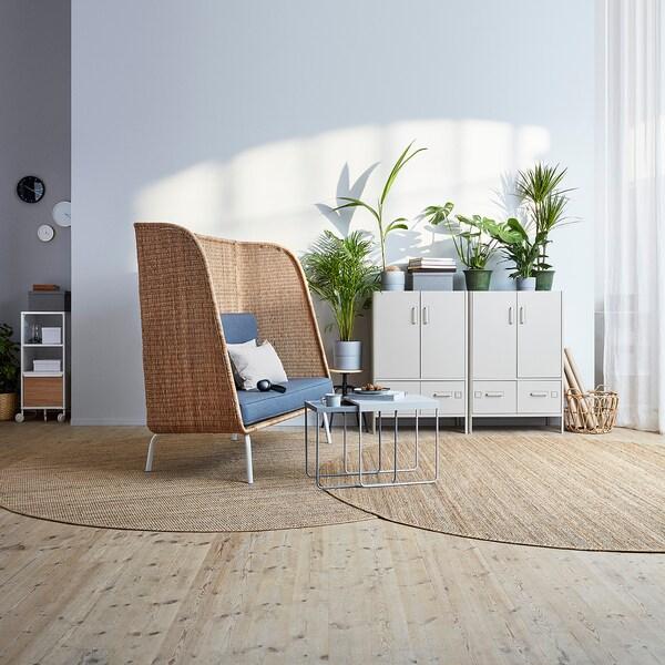 IdÅsen Beige Cabinet With Doors And
