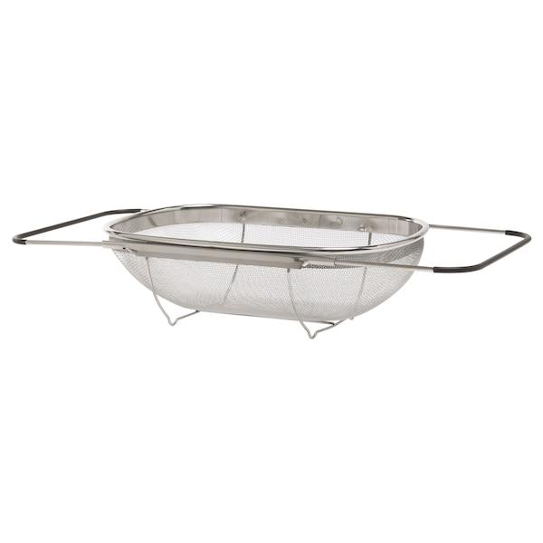 IDEALISK colander stainless steel/black 34 cm 23 cm