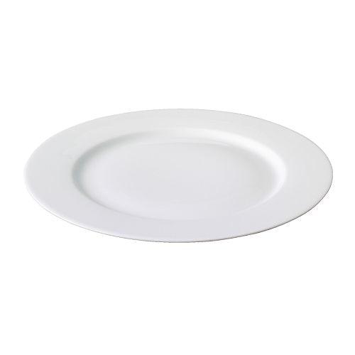 IKEA 365+ Plate, white