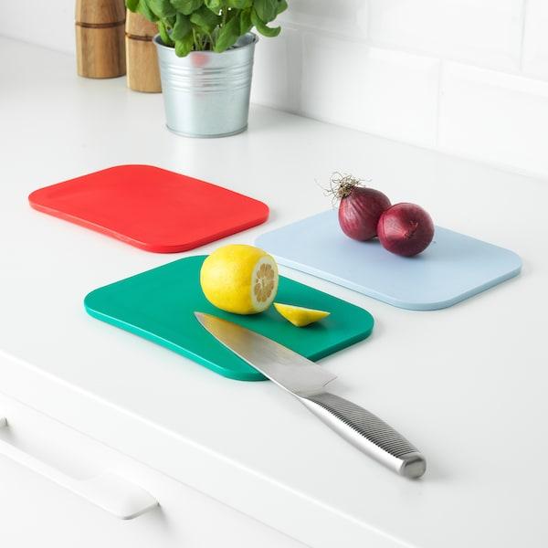 IKEA 365+ chopping board 22 cm 16 cm 7 mm 3 pack