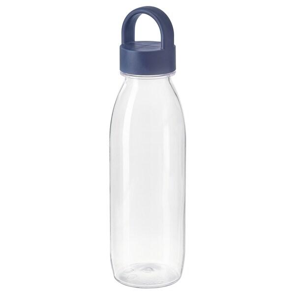 IKEA 365+ water bottle blue 24 cm 0.5 l