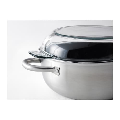 IKEA IKEA 365+ casserole with lid Works well on all types of hobs, including induction hob.