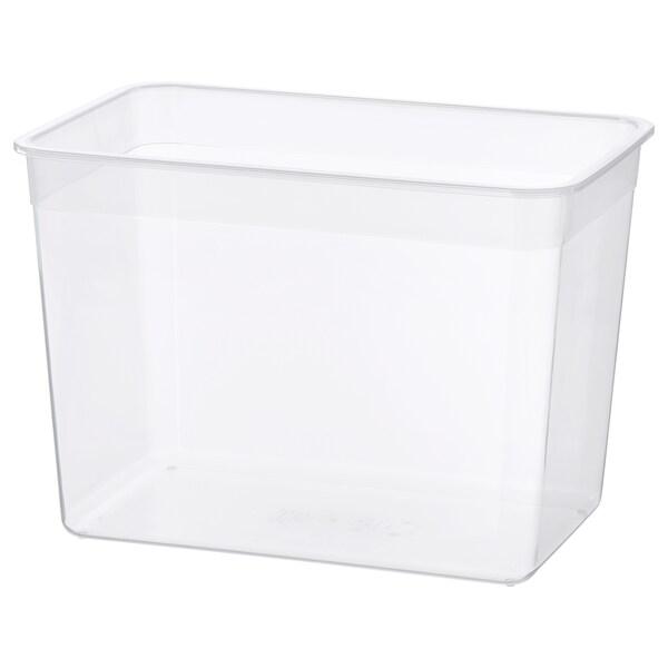 IKEA 365+ Food container, large rectangular/plastic, 10.6 l