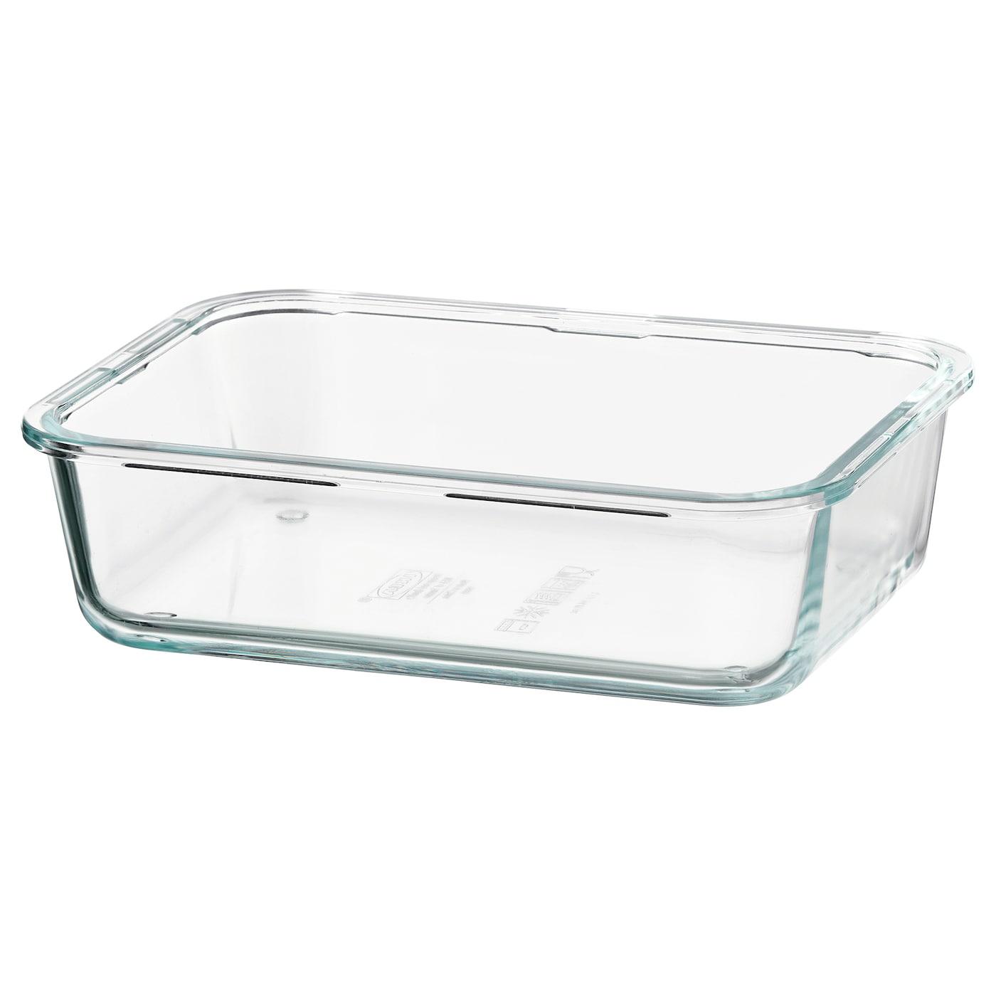 Cook & Heat Rectangular glass food