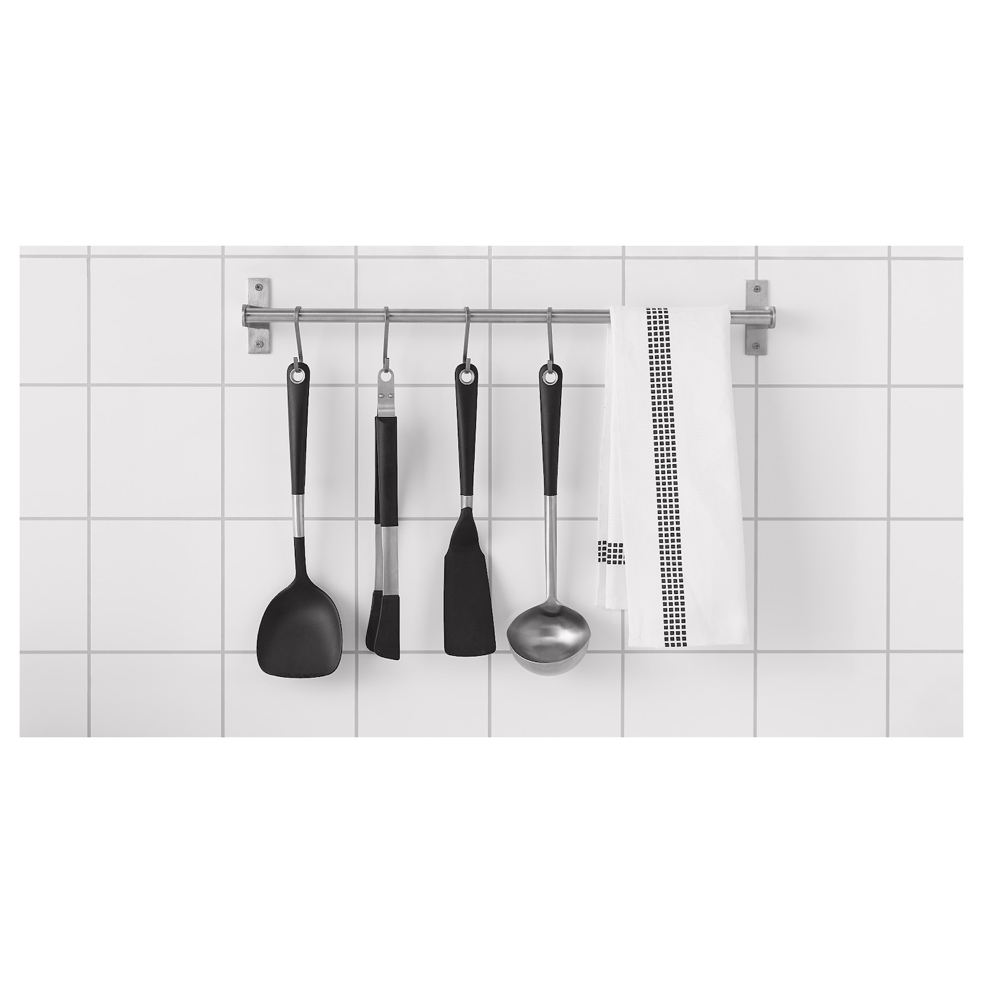 IKEA IKEA 365+ HJÄLTE wok spatula Kind to pots and pans with non-stick coating.