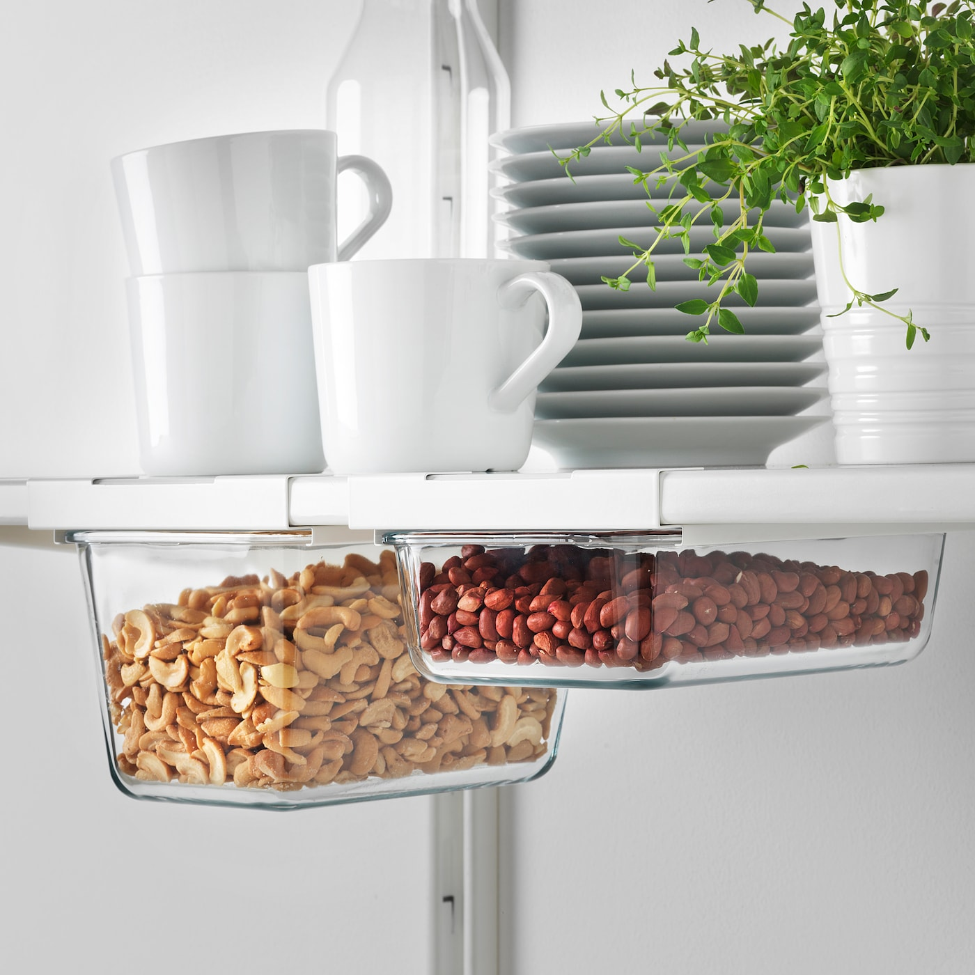 IKEA 365+ white, Holder for container