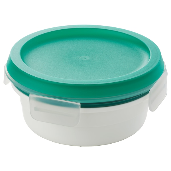 IKEA 365+ Lunch box with dry food compartment, round, 450 ml