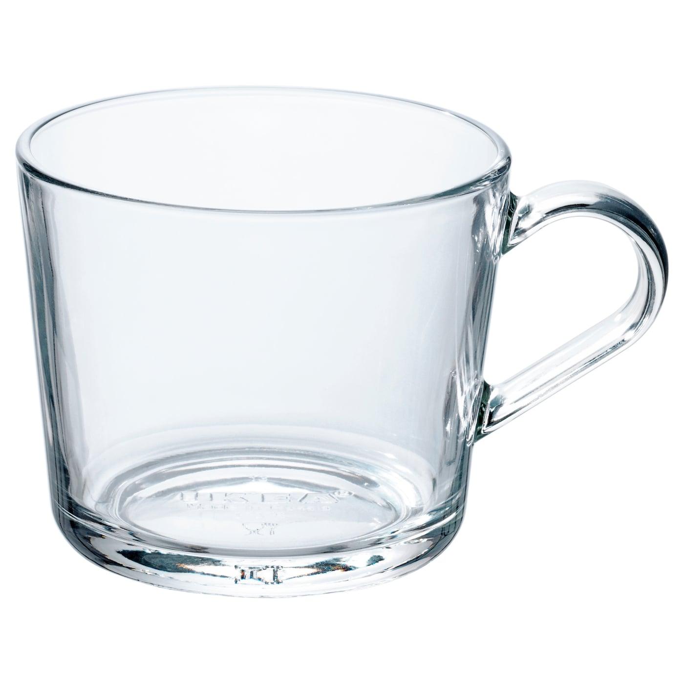 ikea 365 mug clear glass 36 cl ikea. Black Bedroom Furniture Sets. Home Design Ideas