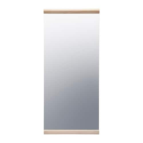 IKEA PS 2012 Mirror IKEA Provided with safety film - reduces damage if glass is broken.  Solid wood, a hardwearing natural material.