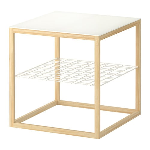 IKEA PS 2012 Side table IKEA Separate shelf for storing magazines, etc.  ; keeps your things organised and the table top clear.