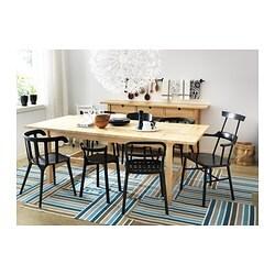 ikea ps 2012 chair with armrests black ikea. Black Bedroom Furniture Sets. Home Design Ideas