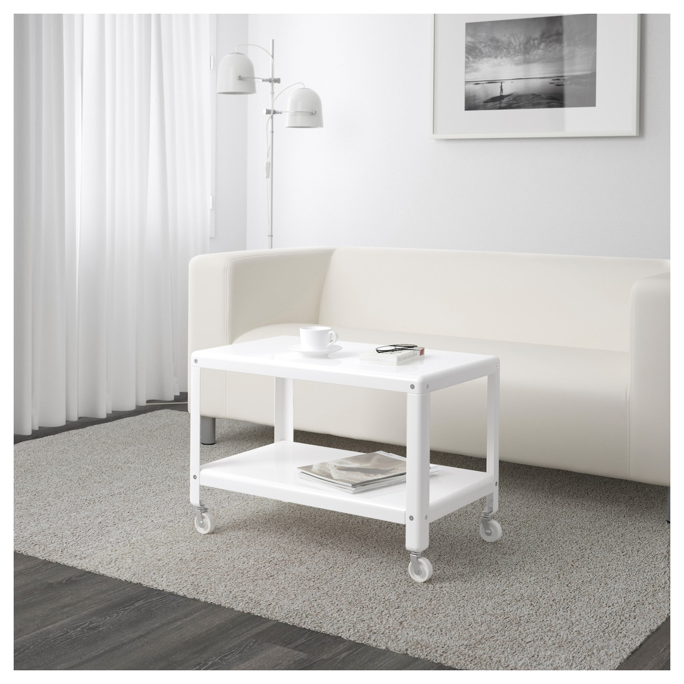 IKEA PS 2012 Coffee table White 70×42 cm  IKEA