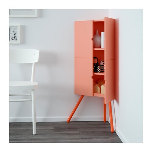ikea ps 2014 corner cabinet pink 52x110 cm ikea. Black Bedroom Furniture Sets. Home Design Ideas