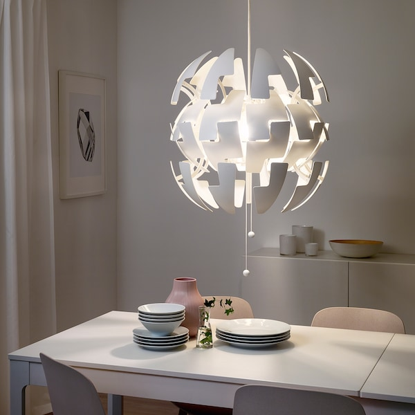 IKEA PS 2014 white, Pendant lamp, 52 cm