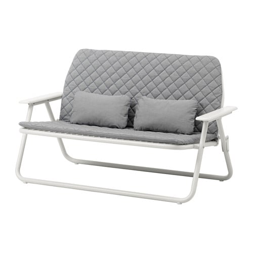 Ikea ps 2017 2 seat sofa folding ikea for Balkon sofa