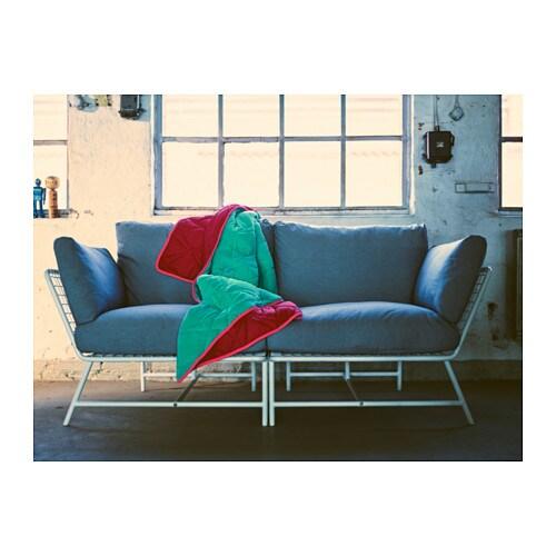 Ikea ps 2017 2 seat sofa white grey ikea for Sofas cama ikea 2017