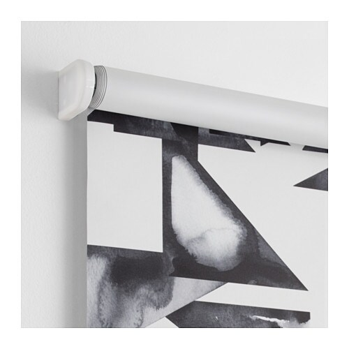 ikea ps 2017 block out roller blind grey 100x195 cm ikea. Black Bedroom Furniture Sets. Home Design Ideas