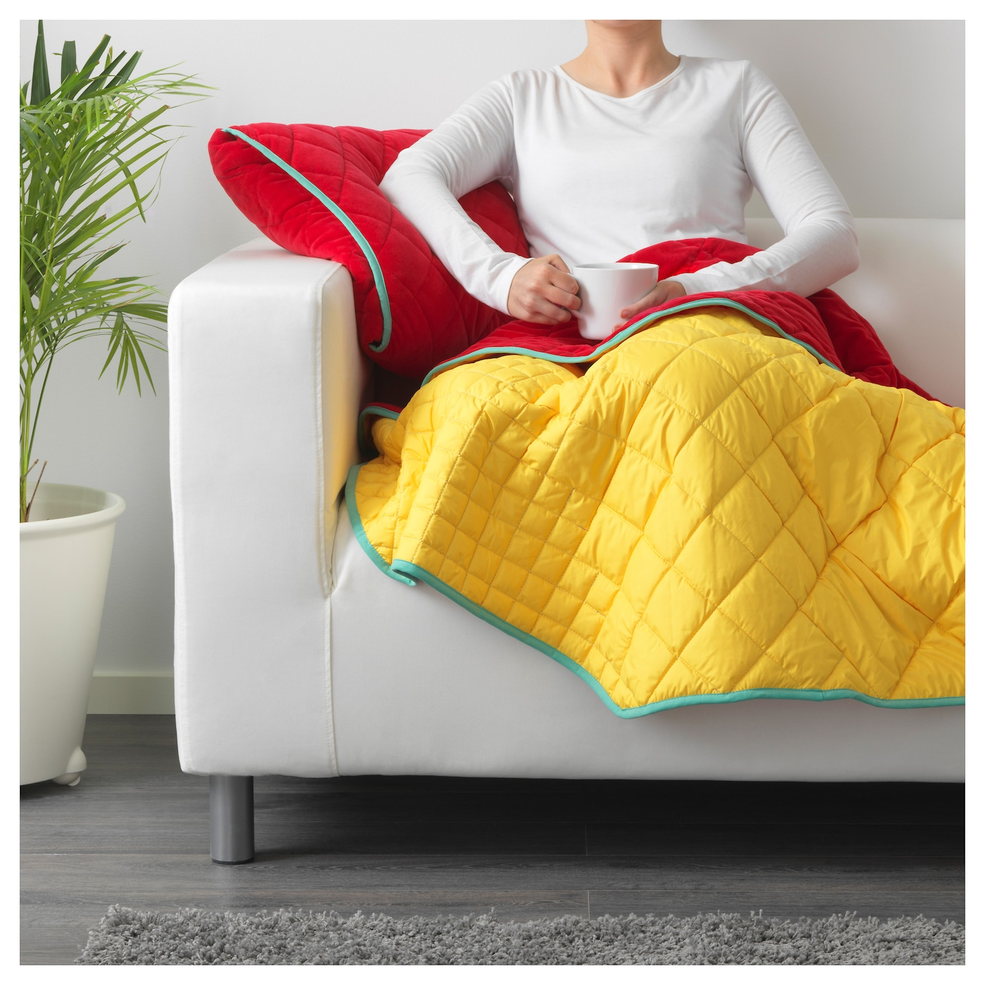 IKEA IKEA PS 2017 throw with cushion cover
