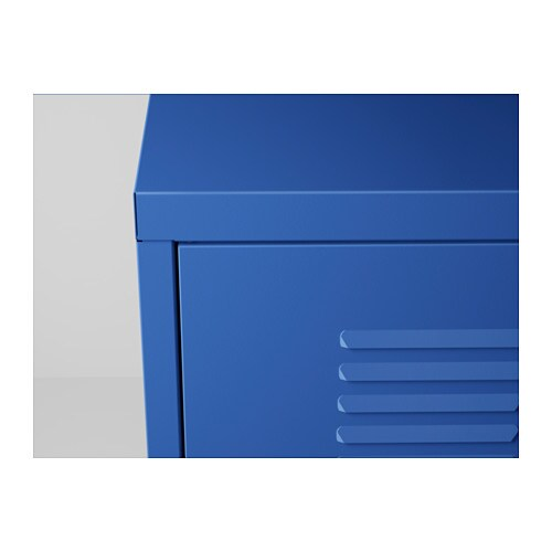 Ikea ps cabinet blue 119x63 cm ikea - Armoire style industriel ...