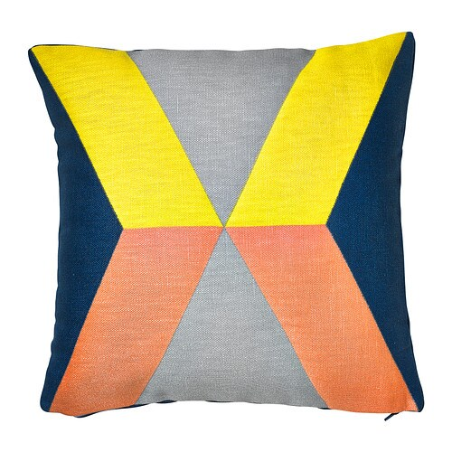 IKEA PS 2014 Cushion cover IKEA The cushion cover is made of ramie, a hard-wearing natural material with a slightly irregular texture.