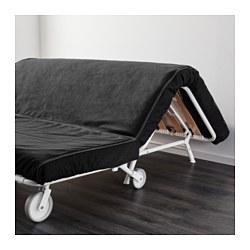 Ikea Ps H 197 Vet Two Seat Sofa Bed Vansta Black Ikea