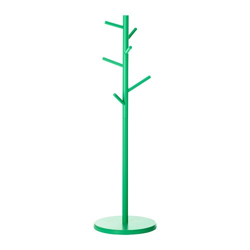 IKEA PS 2014 Hat and coat stand IKEA The low height allows you to place the coat stand under stairs or sloping ceilings, if you like.