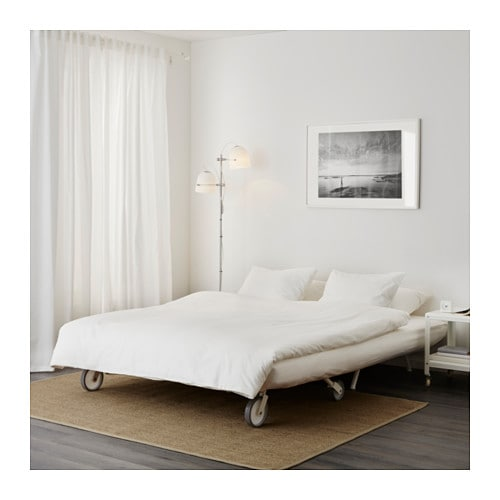 Ikea Ps L 214 V 197 S Two Seat Sofa Bed Gr 228 Sbo White Ikea