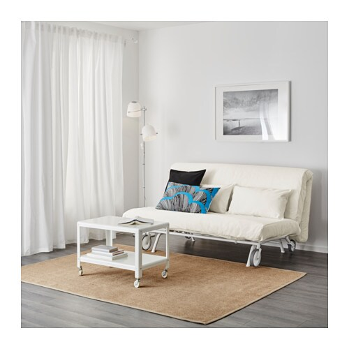 ikea ps l v s two seat sofa bed gr sbo white ikea. Black Bedroom Furniture Sets. Home Design Ideas