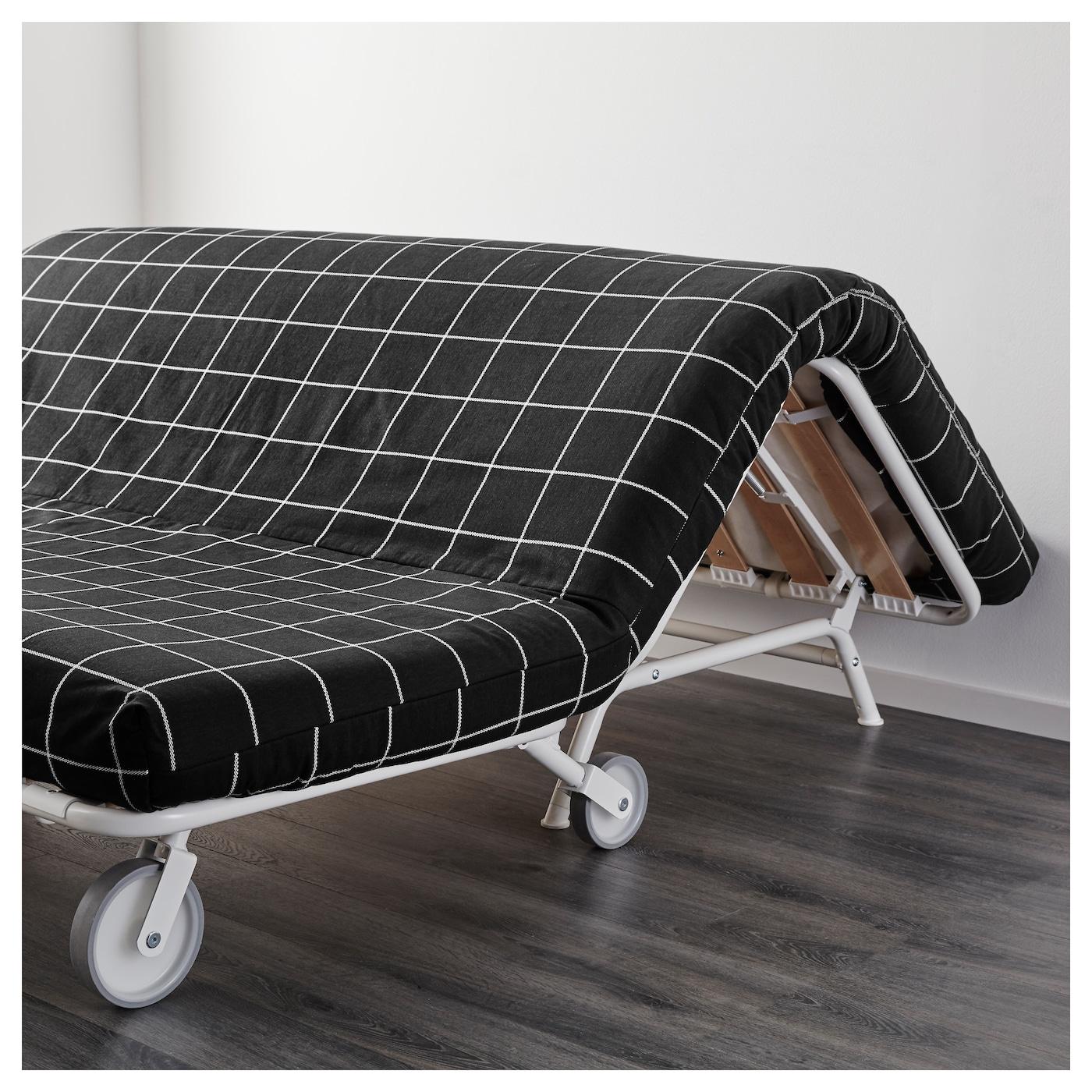 ikea ps l v s two seat sofa bed rute black ikea. Black Bedroom Furniture Sets. Home Design Ideas