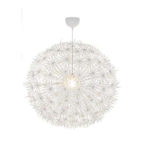 IKEA PS MASKROS Pendant lamp IKEA Gives decorative patterns on the ceiling and on the wall.