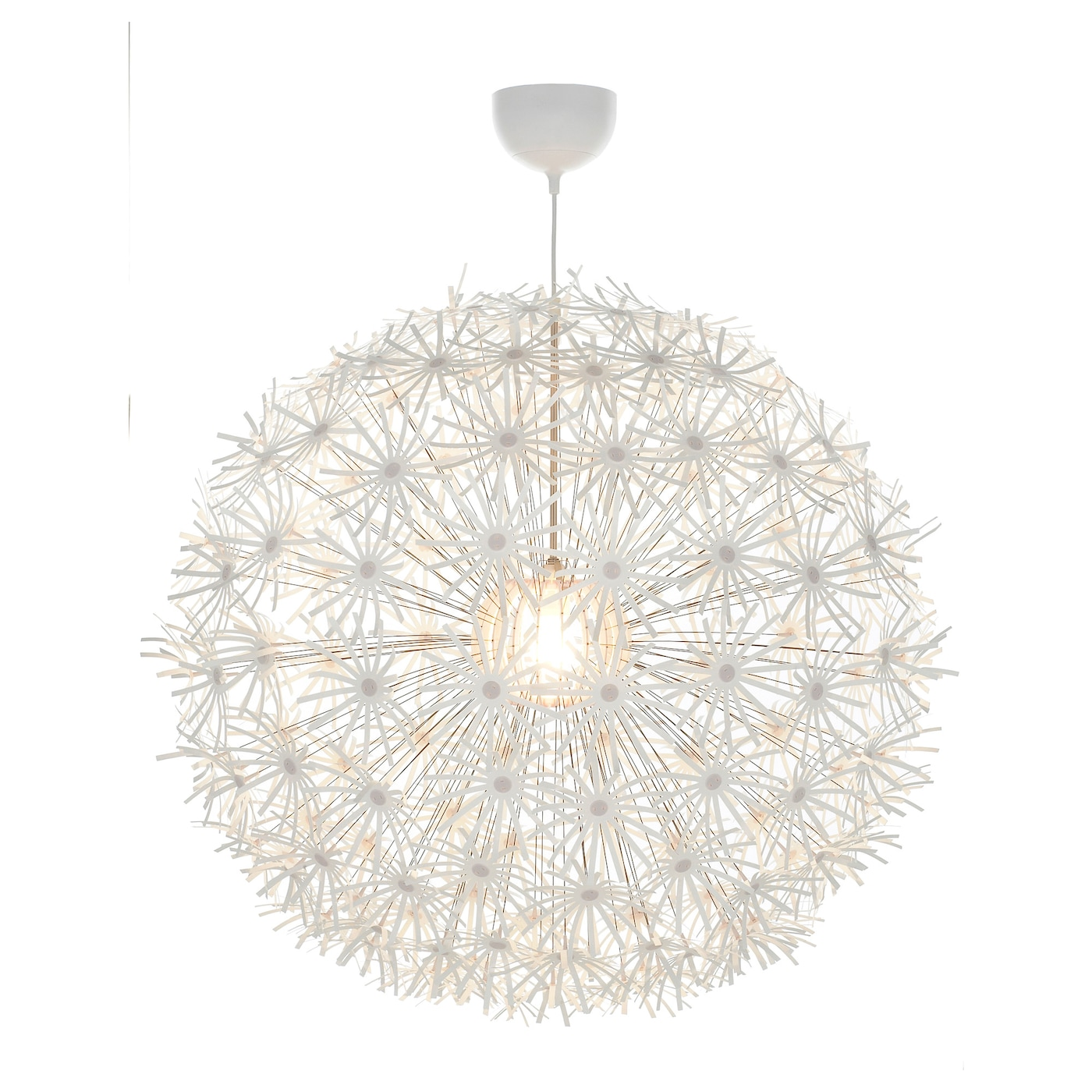 Pendant lighting pendant lamps chandeliers ikea ikea ikea ps maskros pendant lamp gives decorative patterns on the ceiling and on the wall aloadofball Choice Image