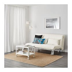 IKEA PS MURBO Two seat sofa bed Gräsbo white IKEA