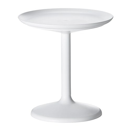 IKEA PS SANDSKÄR Tray table IKEA Removable table top; can be used as a serving tray.  The materials in this outdoor furniture require no maintenance.