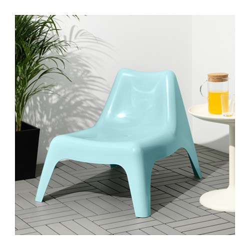 ikea ps v g easy chair outdoor light blue ikea. Black Bedroom Furniture Sets. Home Design Ideas