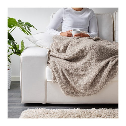 IKEA IKEA STOCKHOLM throw Mohair wool with a silky lustre.