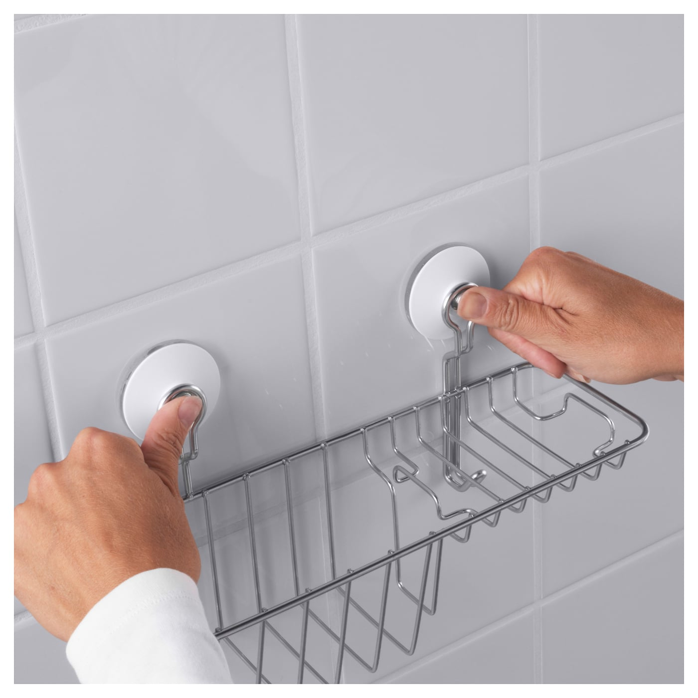 Ikea Immeln Shower Soap Basket With Hook
