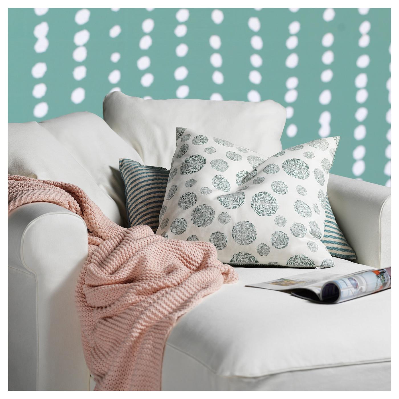 IKEA INGABRITTA throw Soft knitted throw that feels nice against the skin. f05a69ddada1