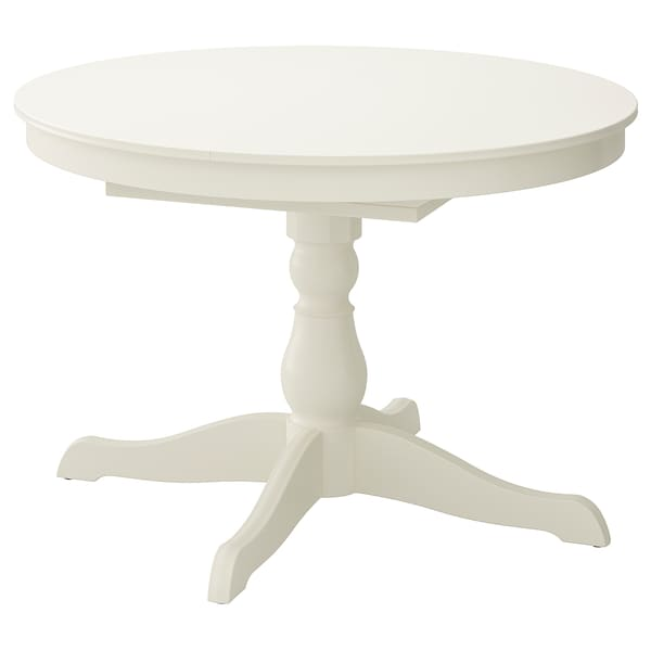 Fabulous Extendable Table Ingatorp White Gamerscity Chair Design For Home Gamerscityorg