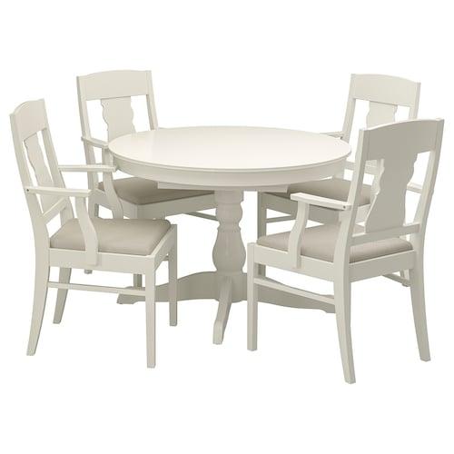 IKEA INGATORP / INGATORP Table and 4 chairs