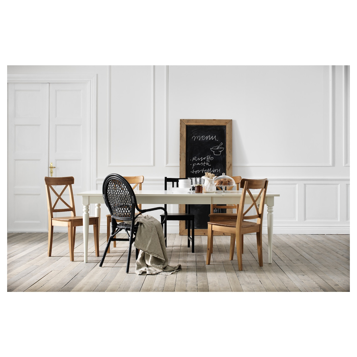 Comedor Ikea | Ingolf Chair Antique Stain Ikea